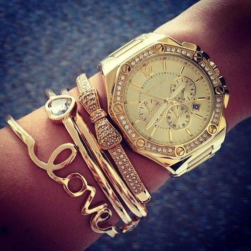 There's some serious arm candy envy here.