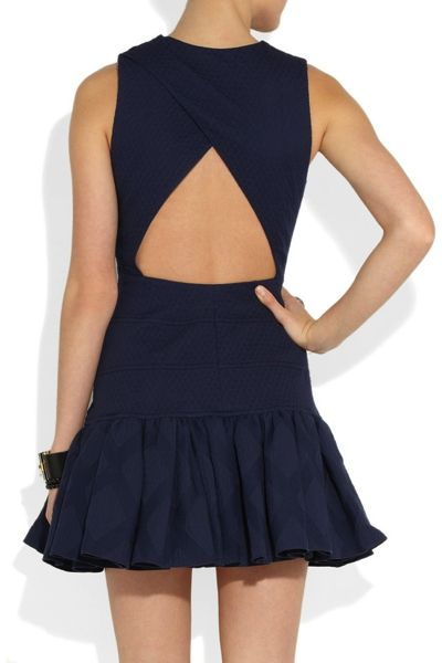The cutout detail made a difference in this simple dress.