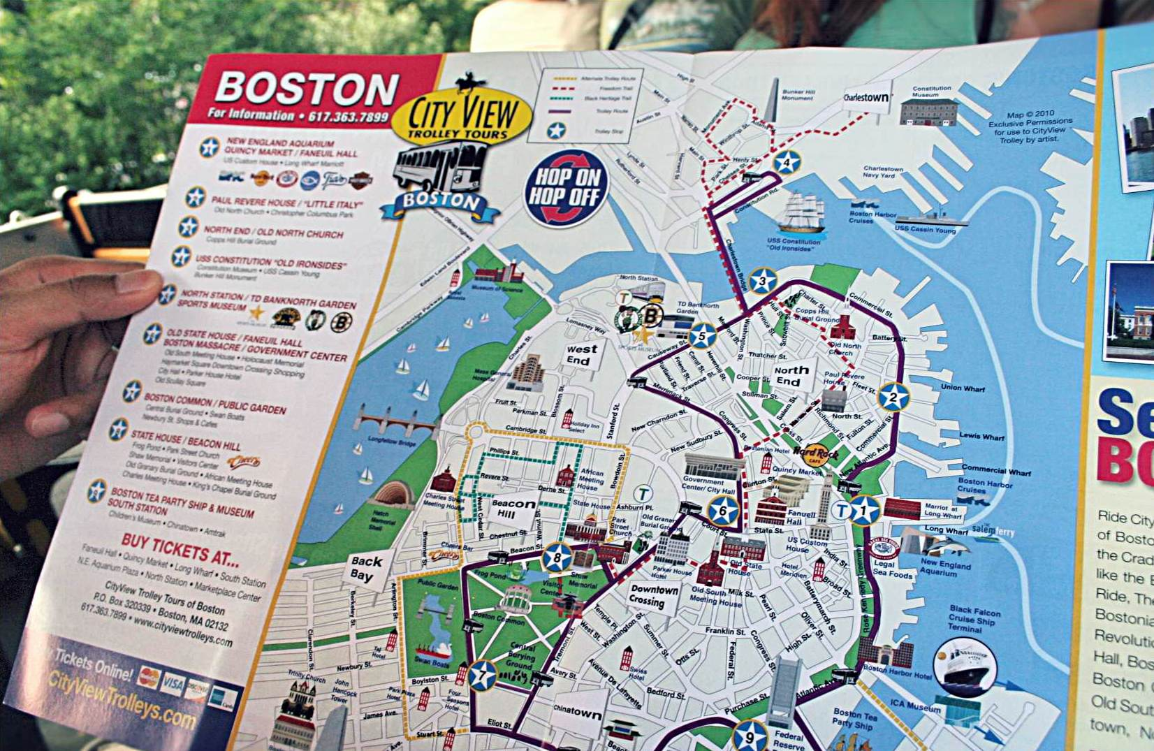 Follow The Red Brick Road TeatimeampTofu – Boston City Map Tourist